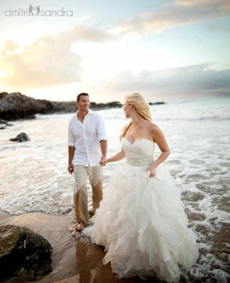 A wedding in Maui will be truly special.