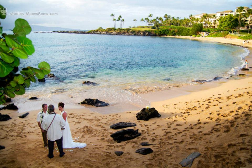 Intimate Maui Beach Wedding / Vow Renewal
