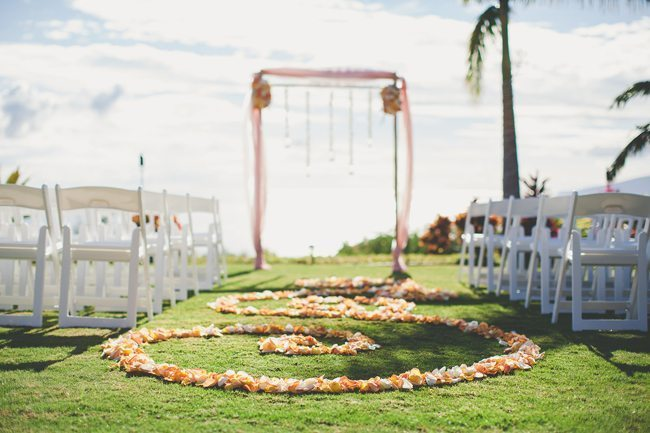 Mauka Lani Private Estate Maui Wedding