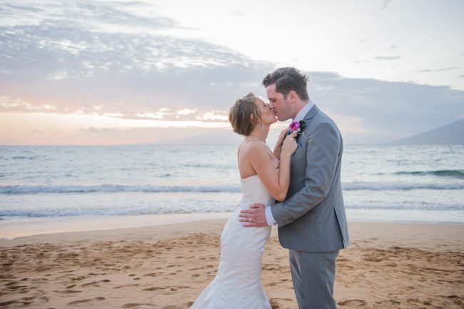 Intimate + Elegant Maui Beach Wedding