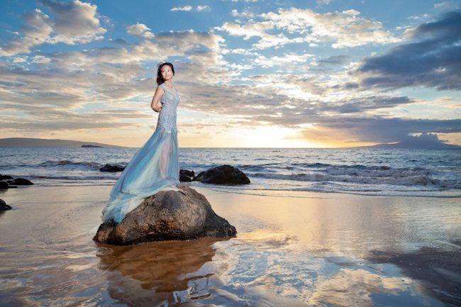 Day After Maui Wedding Portrait
