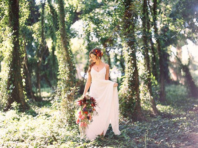 Boho Maui Wedding Inspiration Featured on Ruffled Blog!