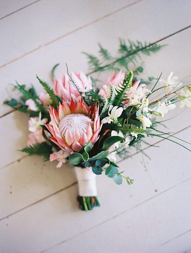 Flowers at Maui destination wedding