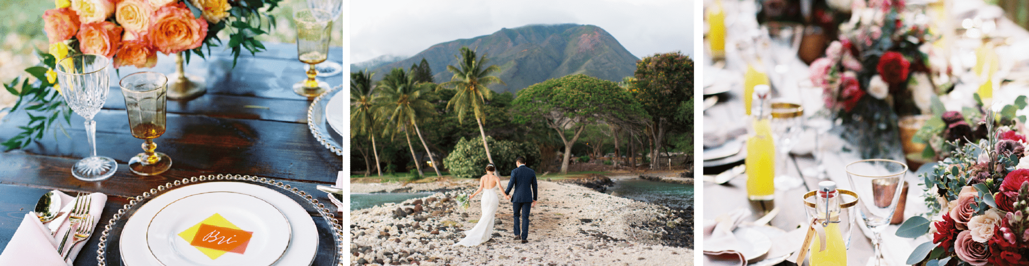 Wedding Details in Hawaii | Wedding Planners in Maui | Maui's Angels