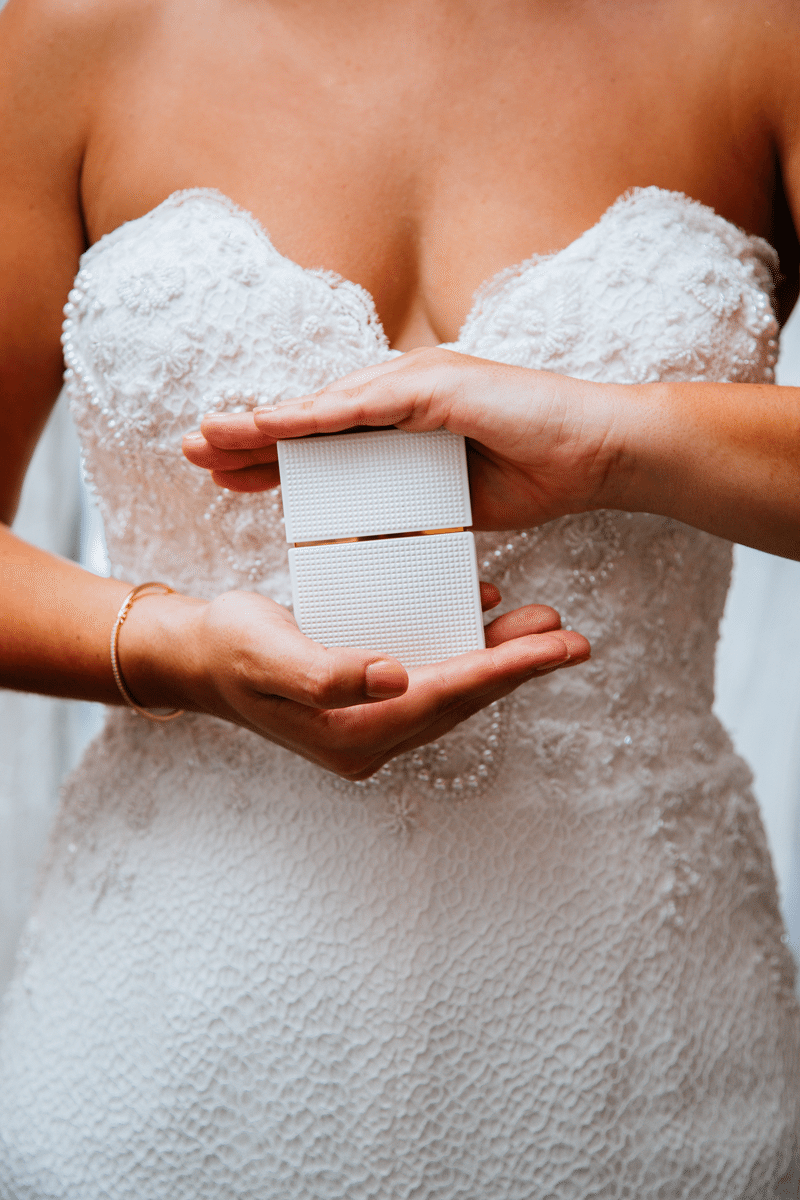 Maui Bride with Ring Box | Weddings in Maui | Maui's Angels
