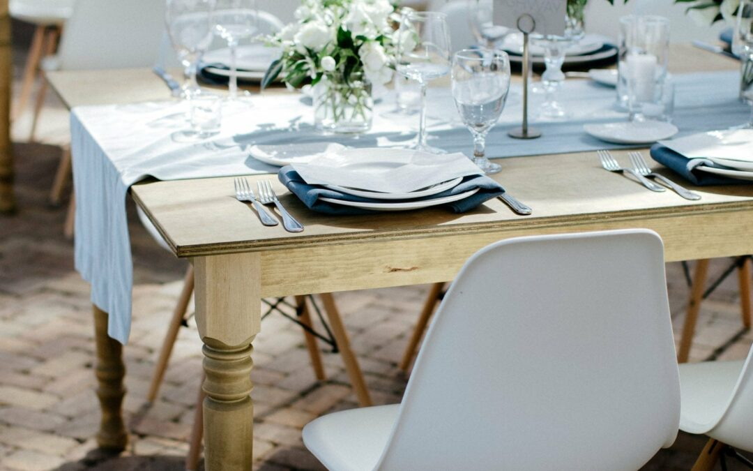 """How To Design the Perfect Tablescape For Your Wedding Day """"I Do's"""""""