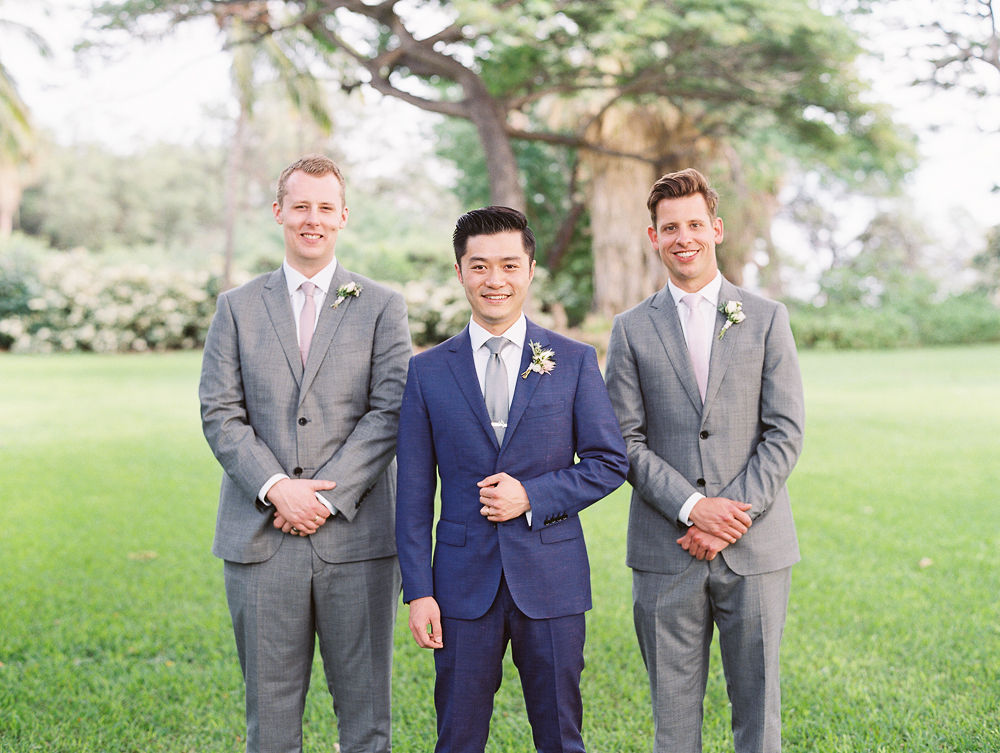 Maui Wedding Groomsmen | Olowalu Plantation House | Maui Wedding Planner | Maui's Angels Blog