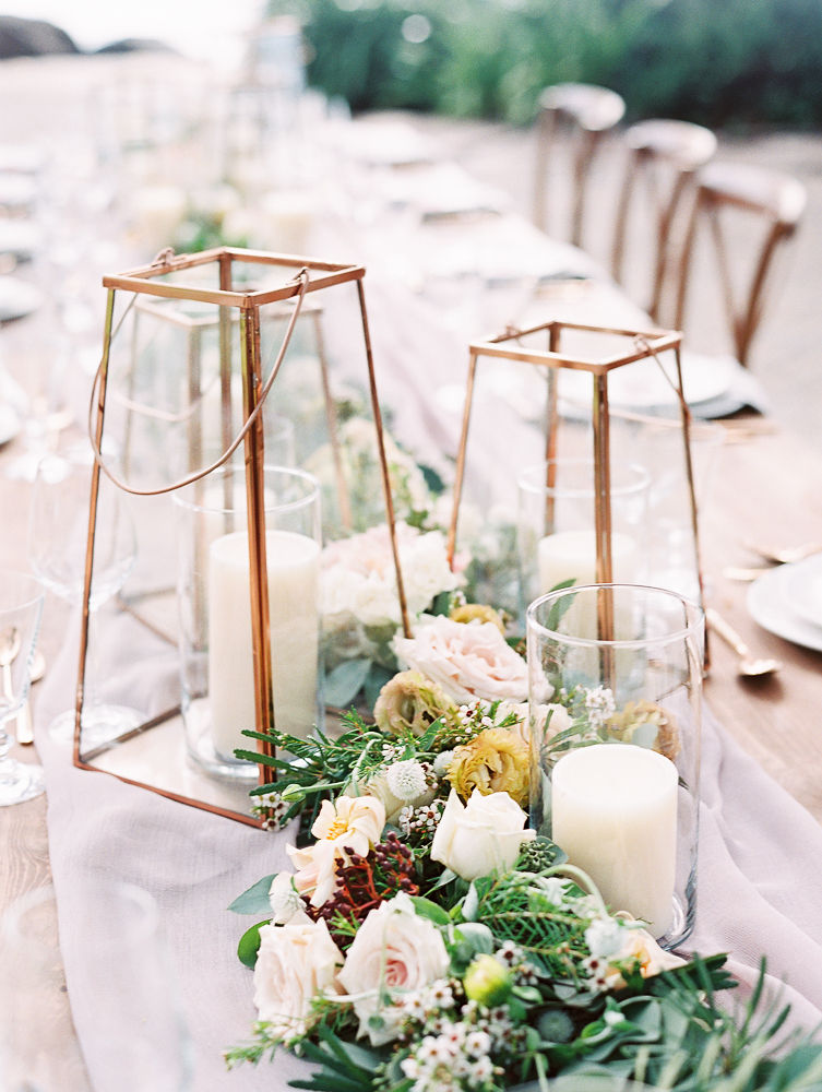 Wedding Lantern Centerpiece | Olowalu Plantation House | Maui Wedding Planner | Maui's Angels Blog