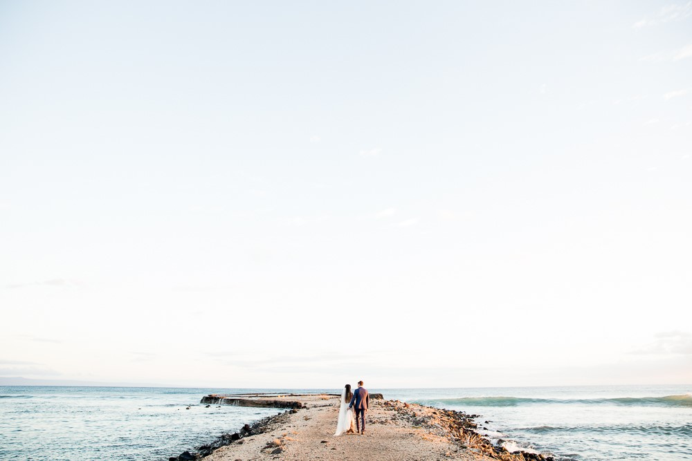 Jenny & Corey's Romantic European Inspired Maui Wedding