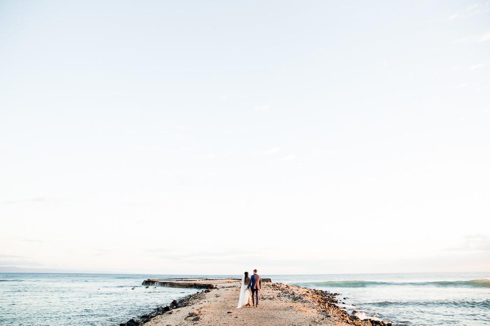 Jenny & Corey's Romantic European Inspired Maui Wedding